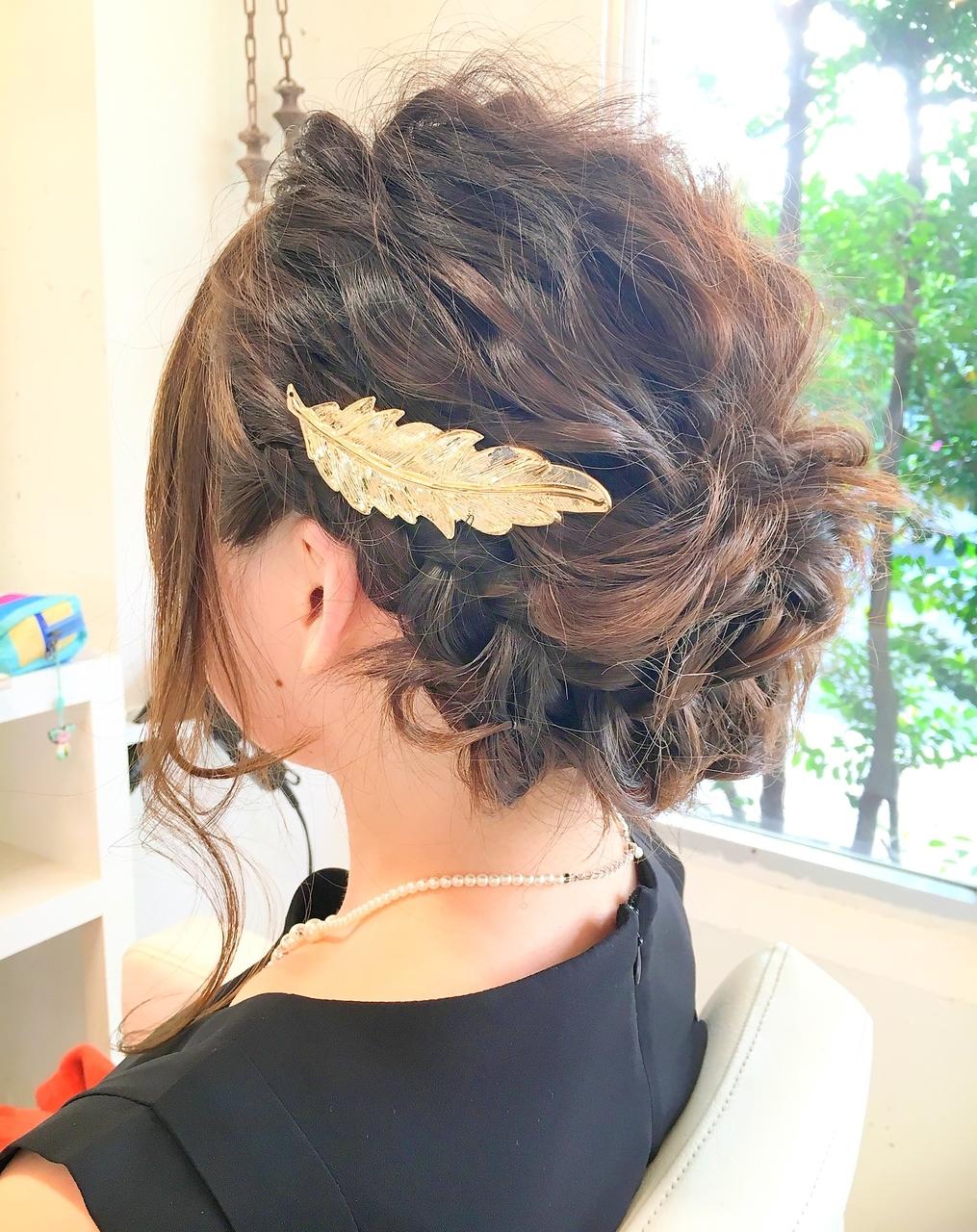 結婚式二次会おすすめヘアアレンジ